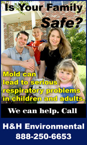 Mold can lead to serious health problems