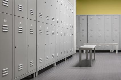 school locker room mrsa removal